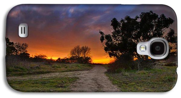 Sun Galaxy S4 Cases - Rancho Santa Fe Sunset Galaxy S4 Case by Larry Marshall