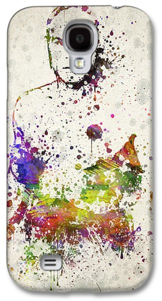 Athlete Digital Galaxy S4 Cases - Randy Couture Galaxy S4 Case by Aged Pixel