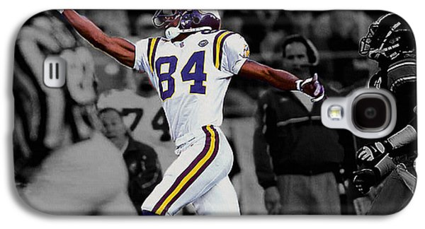 Randy Moss Galaxy S4 Cases - Randy Moss Galaxy S4 Case by Brian Reaves