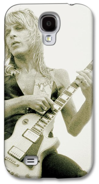 Rock Concerts Galaxy S4 Cases - Randy Rhoads Day on the Green - Latest Unreleased One with normal Sky background Galaxy S4 Case by Daniel Larsen