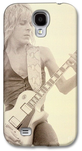 Rock Concerts Galaxy S4 Cases - Randy Rhoads-Day on the Green 7-4-81 Galaxy S4 Case by Daniel Larsen