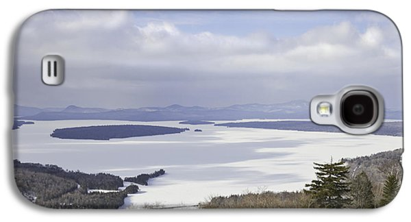 New England Snow Scene Galaxy S4 Cases - Rangeley Maine Winter Landscape Galaxy S4 Case by Keith Webber Jr