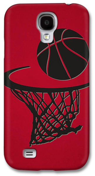 Raptors Galaxy S4 Cases - Raptors Team Hoop2 Galaxy S4 Case by Joe Hamilton