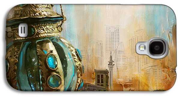 Museum Paintings Galaxy S4 Cases - Ras Al Khaimah Galaxy S4 Case by Corporate Art Task Force
