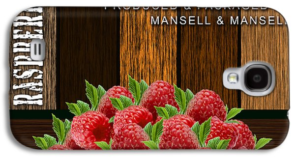 Raspberry Fields Forever Galaxy S4 Case by Marvin Blaine