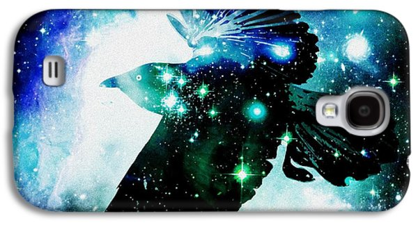 Flight Galaxy S4 Cases - Raven Galaxy S4 Case by Anastasiya Malakhova