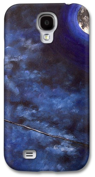 Caws Paintings Galaxy S4 Cases - Raven Cry Galaxy S4 Case by Julia Robinson