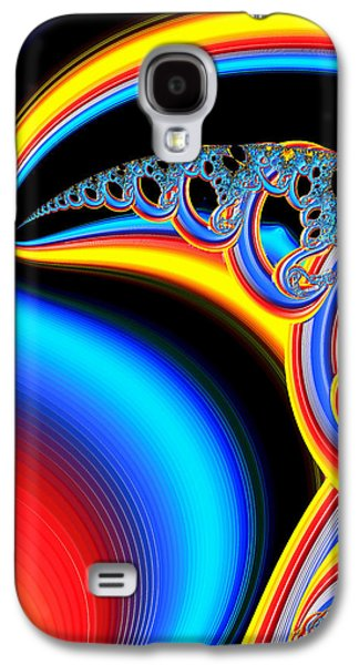 Raven Dreaming By The Fire Galaxy S4 Case by Wendy J St Christopher