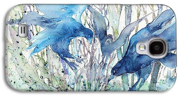 Ravens Wood Galaxy S4 Case by Trudi Doyle