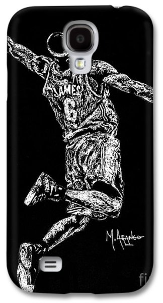 Reaching For Greatness #6 Galaxy S4 Case by Maria Arango