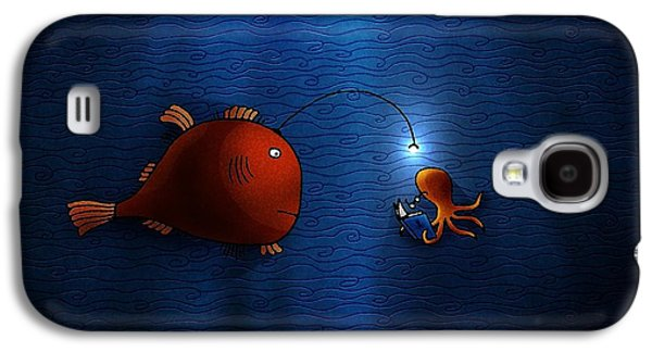 Animation Galaxy S4 Cases - Reading Buddies Galaxy S4 Case by Gianfranco Weiss
