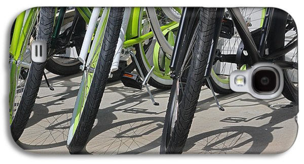 Bicycle Photographs Galaxy S4 Cases - Ready for a Spin Galaxy S4 Case by Suzanne Gaff