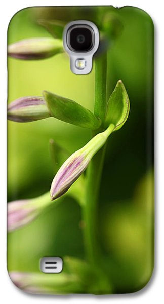 Ready To Bloom Hostas Galaxy S4 Case by Karol Livote
