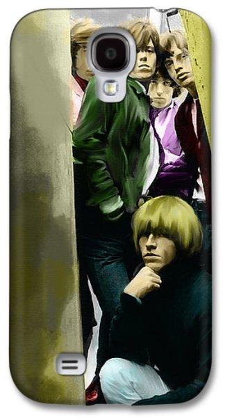 Real Exile The Brian Jones Rolling Stones  Galaxy S4 Case by Iconic Images Art Gallery David Pucciarelli