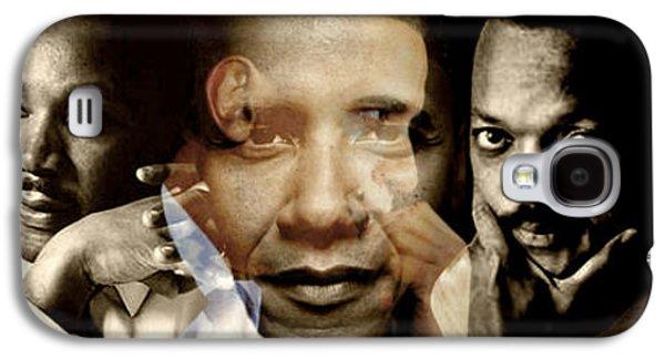 Barack Obama Galaxy S4 Cases - Realized Galaxy S4 Case by Lynda Payton