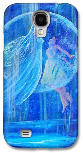 Charlotte Mixed Media Galaxy S4 Cases - Rebirthing The Sacred Feminine Galaxy S4 Case by The Art With A Heart By Charlotte Phillips