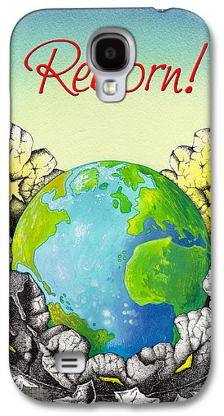 Shed Drawings Galaxy S4 Cases - Reborn Galaxy S4 Case by Anthony Mwangi