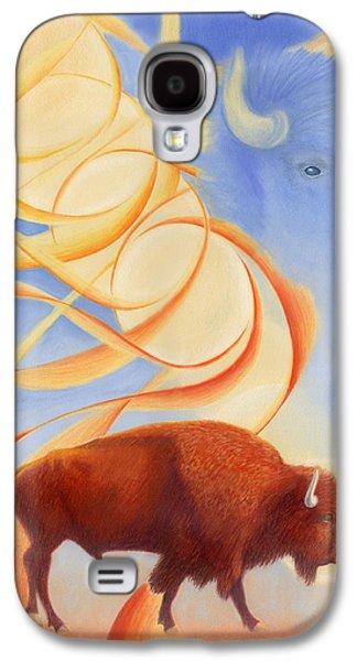 Receiving Buffalo Galaxy S4 Case by Robin Aisha Landsong