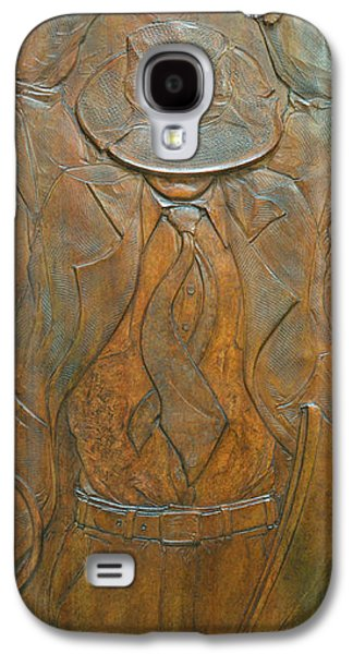 Relief Sculpture Reliefs Galaxy S4 Cases - Reckless Paternity Galaxy S4 Case by Jeremiah Welsh