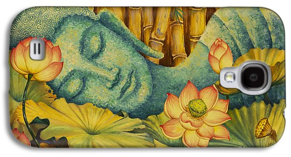 Reclining Buddha Galaxy S4 Case by Yuliya Glavnaya