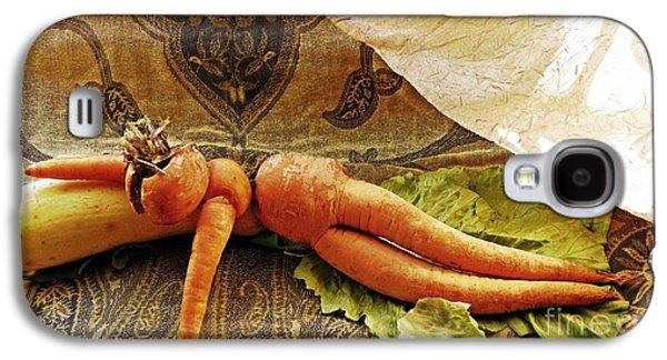 Reclining Nude Carrot Galaxy S4 Case by Sarah Loft