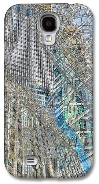 Recently Sold -  - Abstract Digital Photographs Galaxy S4 Cases - Reconstructing Architecture 9 Galaxy S4 Case by Kevin Eatinger