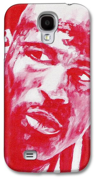 Nike Paintings Galaxy S4 Cases - Red Air Galaxy S4 Case by Paul Smutylo