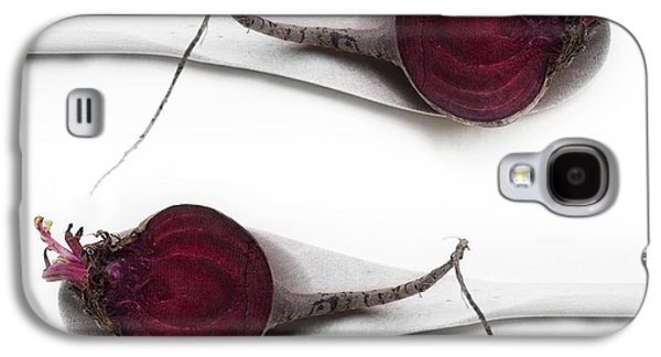 Square Format Galaxy S4 Cases - Red Beets Galaxy S4 Case by Priska Wettstein