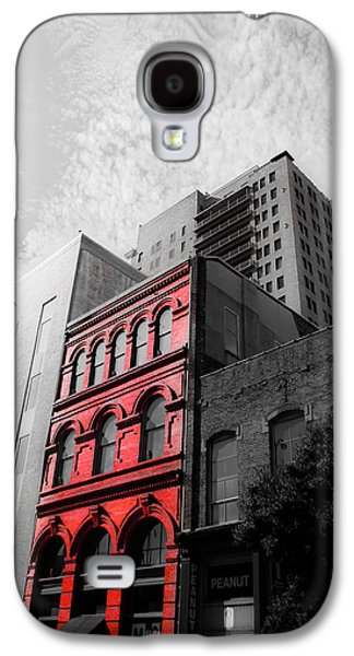 Building Photographs Galaxy S4 Cases - Red Building Galaxy S4 Case by Shelby  Young