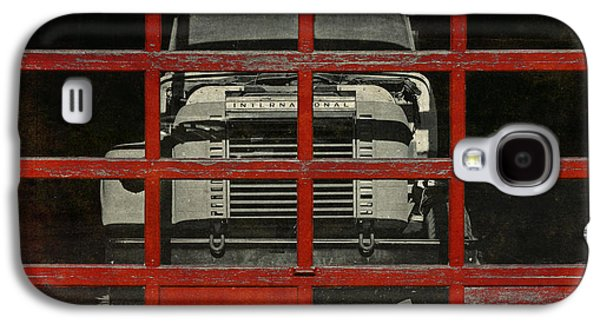Mechanics Digital Galaxy S4 Cases - Red Cage Galaxy S4 Case by Jeff  Gettis
