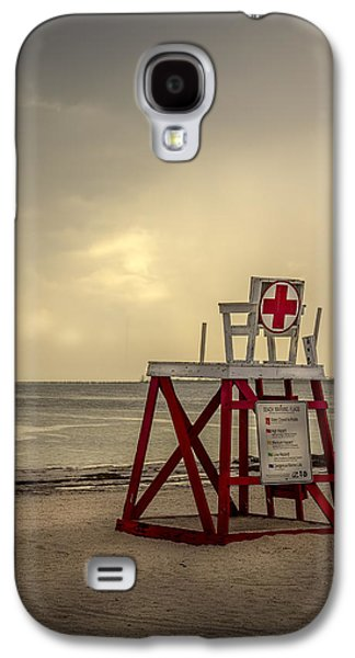 Shed Photographs Galaxy S4 Cases - Red Cross Lifeguard Galaxy S4 Case by Marvin Spates
