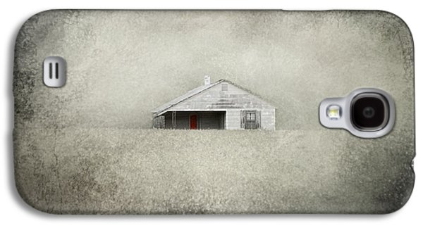 Tennessee Farm Galaxy S4 Cases - Red Door Farmhouse Galaxy S4 Case by Jai Johnson