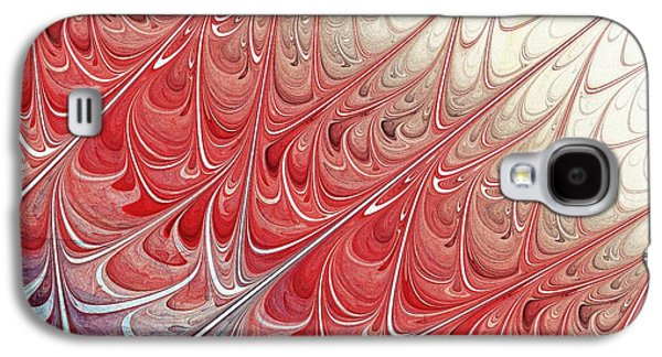 Red Folium Galaxy S4 Case by Anastasiya Malakhova