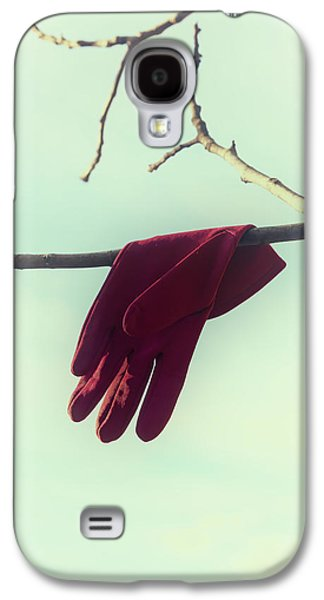 Gloves Galaxy S4 Cases - Red Glove Galaxy S4 Case by Joana Kruse