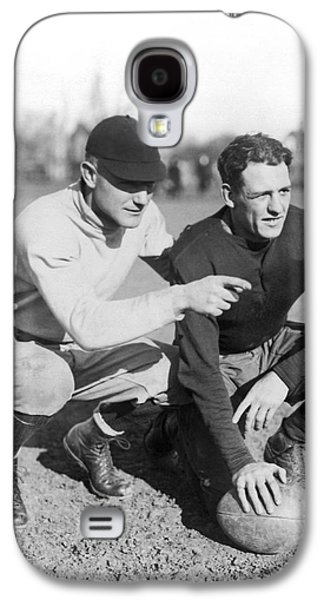 Red Grange And His Coach Galaxy S4 Case by Underwood Archives