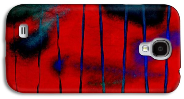 Becky Digital Art Galaxy S4 Cases - Red Green Blue Texture Galaxy S4 Case by Becky Hayes