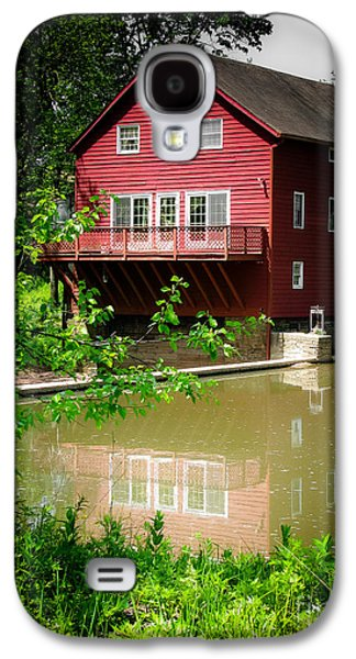Original Art Photographs Galaxy S4 Cases - Red Grist Mill Galaxy S4 Case by Colleen Kammerer