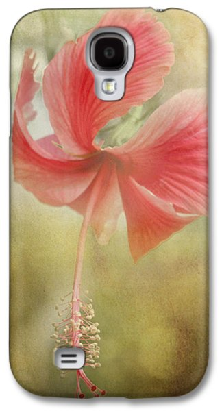 Althea Galaxy S4 Cases - Red Hibiscus Galaxy S4 Case by David and Carol Kelly