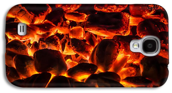 Burned Clay Galaxy S4 Cases - Red Hot 2 Galaxy S4 Case by Bradley Clay