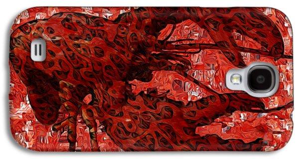 Red Lobster 1 Galaxy S4 Case by Jack Zulli