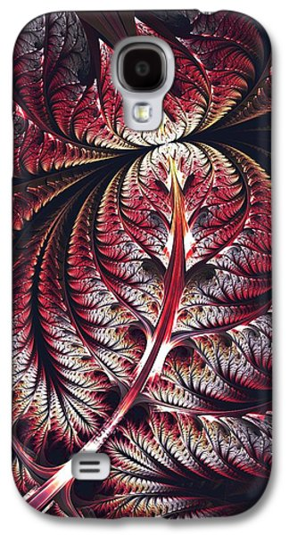 Recently Sold -  - Digital Galaxy S4 Cases - Red Leaf Galaxy S4 Case by Anastasiya Malakhova