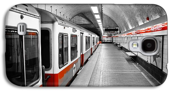 Red Line Galaxy S4 Case by Charles Dobbs