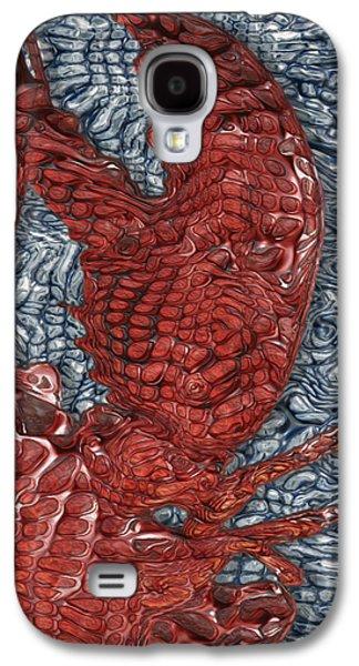 Red Lobster Galaxy S4 Case by Jack Zulli