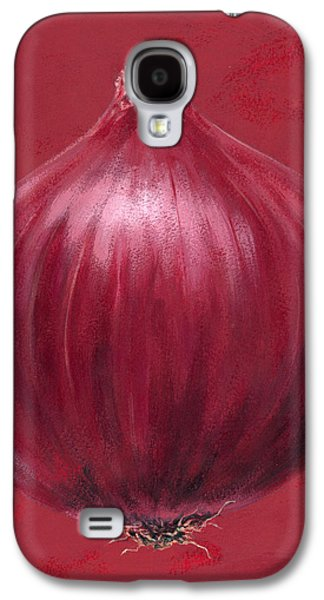 Red Onion Galaxy S4 Case by Brian James