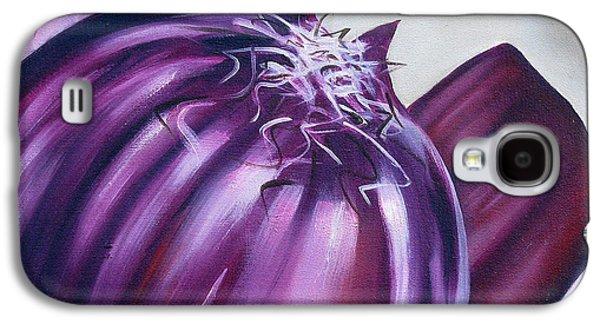 Red Onion Galaxy S4 Case by Ilse Kleyn