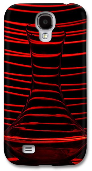 Abstraction Photographs Galaxy S4 Cases - Red rhythm Galaxy S4 Case by Davorin Mance
