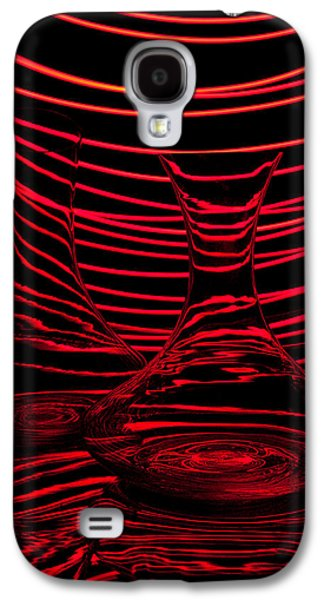 Abstraction Photographs Galaxy S4 Cases - Red rhythm II Galaxy S4 Case by Davorin Mance