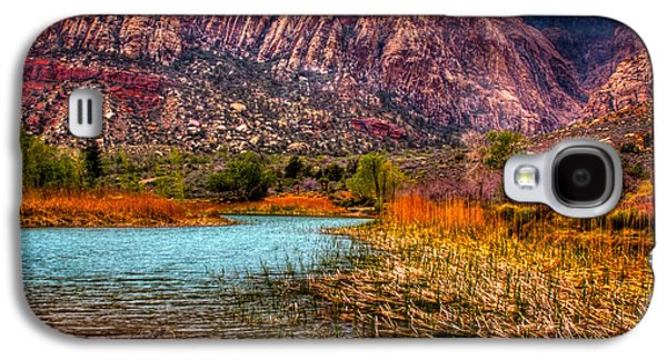 Fault Galaxy S4 Cases - Red Rock Canyon Conservation Area Galaxy S4 Case by David Patterson