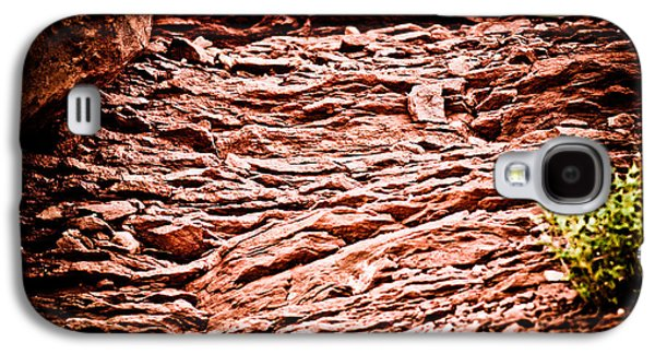 Universities Ceramics Galaxy S4 Cases - Red Rocks at Meteor Crater Galaxy S4 Case by Glenn Student
