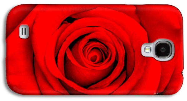 Vision Galaxy S4 Cases - Red Rose 1 Galaxy S4 Case by Az Jackson